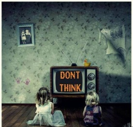 TV dont think